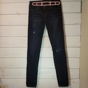 American Eagle stretch jeggings size 00